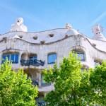 Casa Mila La Pedrera, Barcelona — Stock Photo #10532587