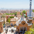 Panorama of Barcelona city from Park Guell — Fotografia Stock  #10532633