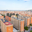 Panorama of Barcelona city — Stok fotoğraf