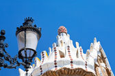 Architectural elements in Park Guell — Foto Stock