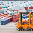 Cargo port — Stock Photo