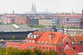 View on Copenhagen in autumn day — Stock Photo
