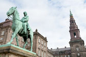 Monument in Christiansborg Palace in Copenhagen — Stock Photo