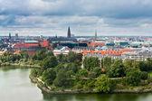 View on center of Copenhagen, Denmark — Stock Photo