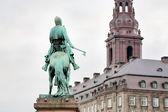 Statue d'absalon à copenhague, danemark — Photo