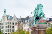 Statue of Absalon in Copenhagen, Denmark — Stock Photo