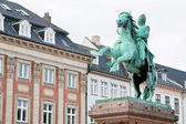 Absalon on Hojbro square in Copenhagen, Denmark — Foto de Stock