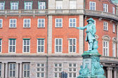 Statue of admiral Niels Juel in Copenhagen — Stock Photo