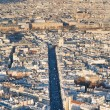 Royalty-Free Stock Photo: Above view on Paris