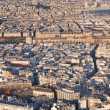 Above view on Paris — Stock Photo