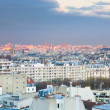 View over the 6th arrondissement in Paris at evening — Stock Photo