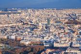 Acima vista sobre paris — Foto Stock