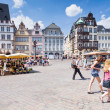 Old Market square in Trier, Germany — 图库照片