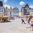 Old Market square in Trier, Germany — ストック写真