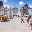 eski Pazar Meydanı, trier, Almanya — Stok fotoğraf