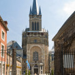 Cathedral in Aachen, Germany - Stock Photo