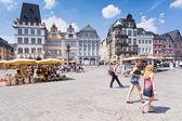 Alten marktplatz in trier, deutschland — Stockfoto