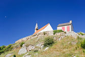 Chapelle Saint Michel on Ile de Brehat island in Brittany — Stock Photo