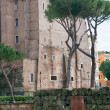 Ancient building on Forum on Capitoline Hill in Rome — Stock Photo