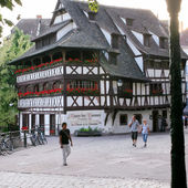 La Maison des Tanneurs - old house in Strasbourg — Stock Photo