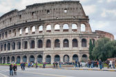 View on Colosseum in Rome, Italy — Stock Photo