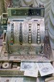 Old cash register — Stock Photo