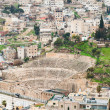 Ancient Roman theater in Amman , Jordan — Stock Photo