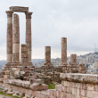 Temple of Hercules in antique citadel in Amman - Foto de Stock