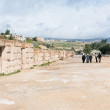 Stock Photo: Circus hippodrome in Greco-Romcity of GerasJerash
