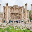 Stock Photo: Facade of Artemis temple in ancient town Jerash