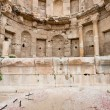 Stock Photo: Antique bowl near Artemis temple in ancient town Jerash
