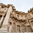 Artemis temple in ancient town Jerash — Stock Photo