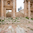 Stock Photo: Steps and gate to Artemis temple in ancient town Jerash