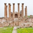 Stock Photo: Corinthium colonnade of Artemis temple in ancient town Jerash