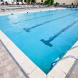 Empty swimming pool — Stock Photo