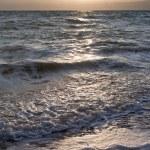 Sunset on Dead Sea — Stock Photo