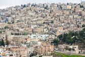 Panorama of old town Amman, Jordan — Stock Photo