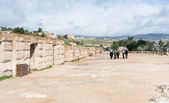 Circus hippodrome in Greco-Roman city of Gerasa Jerash — Stock Photo
