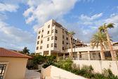 Building on Dead Sea coast in Jordan — Stock Photo