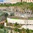 View on resort buildings on Dead Sea coast - Stock Photo
