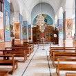 Interior of Greek Orthodox Basilica of Saint George - Stock Photo
