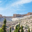 Kerak crusader castle, Jordan — Stock Photo