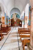 ギリシャ正教会大聖堂の内部 — ストック写真