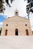 Greek Orthodox Basilica of Saint George in town Madaba — Stock Photo
