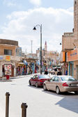 Touristic area in town Madaba, Jordan — Stock Photo