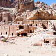 Stock Photo: Street of Facades, Petra