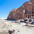 View on Royal Tombs in Petra — Stock Photo #9930368