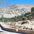 Stock Photo: View on town town Wadi Musfrom Petra