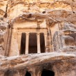 Royalty-Free Stock Photo: Antique Nabatean Temple in Little Petra
