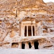 Antique Nabatean Temple in Little Petra — Stock Photo